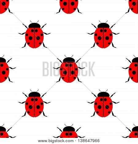 Seamless Vector Pattern With Insects