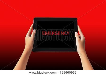 Emergency Concept.