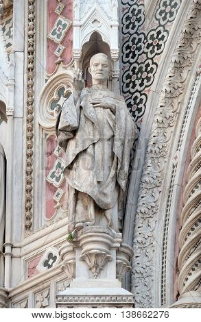 FLORENCE, ITALY - JUNE 05: Saint, Cattedrale di Santa Maria del Fiore (Cathedral of Saint Mary of the Flower), Florence, Italy on June 05, 2015