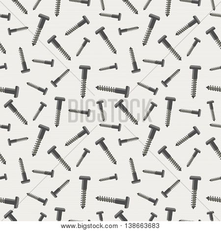 Seamless Vector Pattern With Tools
