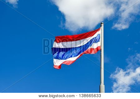 The flag of Thailand Thong Trairong meaning