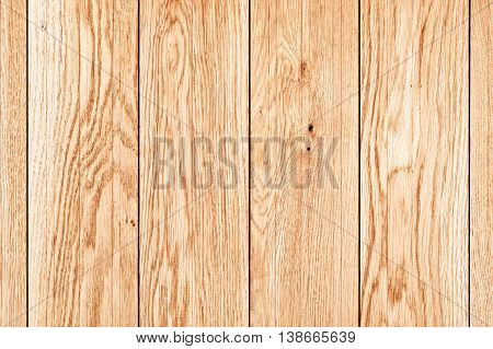 wall of brown oil oak boards, background