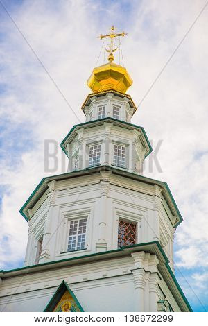 Novospassky Monastery. New Monastery Of The Saviour. Russia. Istra.
