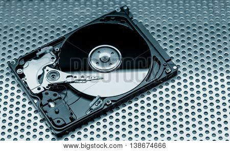 Open hdd drive
