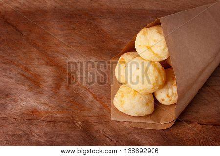Brazilian Snack Cheese Bread (pao De Queijo)