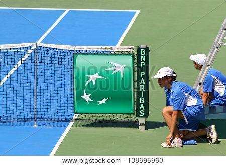 Davis Cup: Ukraine V Austria