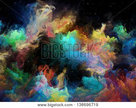 Inner Life Of Space Nebula