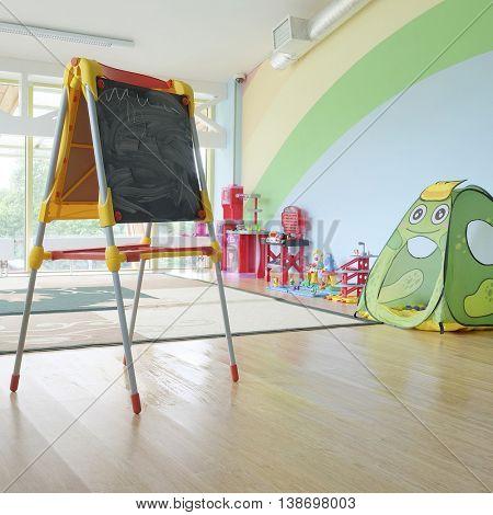 games room in the kindergarten