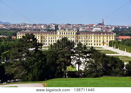 Vienna city, view and city scape , Austria