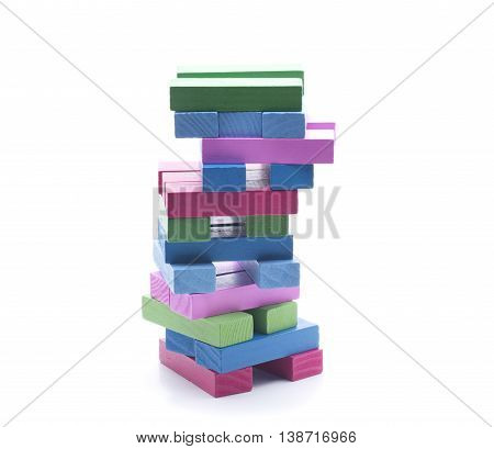 several pieces of different colors for mounting different forms
