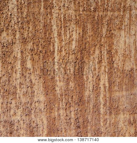 Close-up fragment of an old rusted sheet of metal as a grunge background texture composition