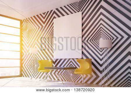 Modern Interior Design With Sunlight