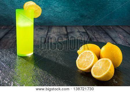 Lemons And Colored Glasses
