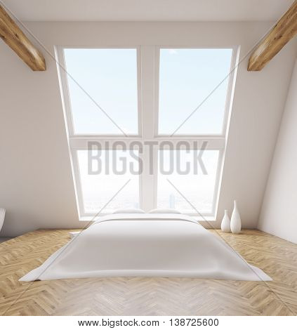 Loft Bedroom Interior Front