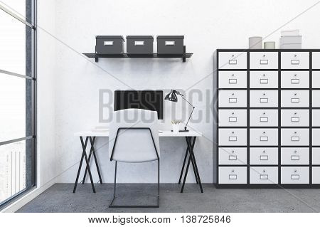 Modern Workplace In Office