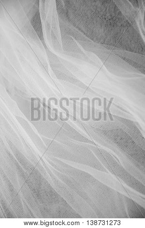 Abstract white and black veil background, vertical image