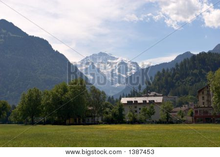 Jungfrau From Interlaken