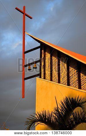 Callao Salvaje church in Adeje Tenerife, Canary Islands