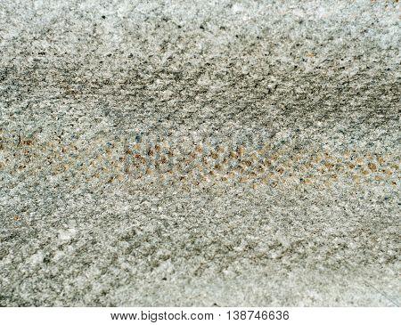 A texture of vintage rooftop asbestos slate