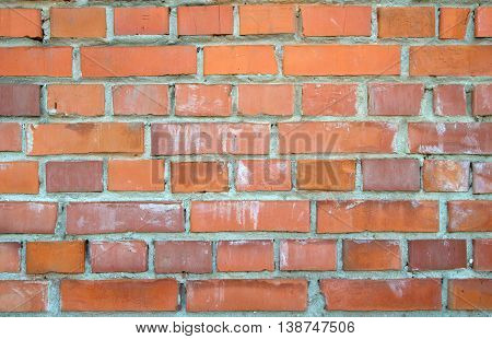 a brick wall texture. A close up