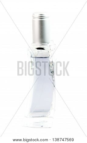 a perfume bottle isolated on white background