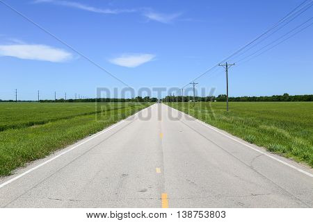 Road In Kansas