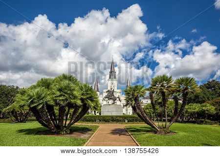 St. Louis Cathedral in the French Quarter New Orleans Louisiana