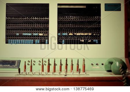 Machine Communication Retro And Machine Communication Vintage