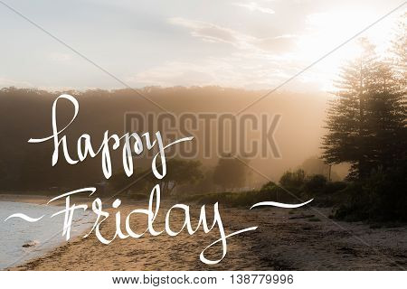 Happy Friday Greeting