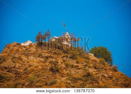 Hindu Temple. Pushkar. India.