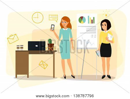 Vector business Cartoon characters for your design