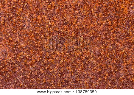 Old Rusty Metal Plate For Background