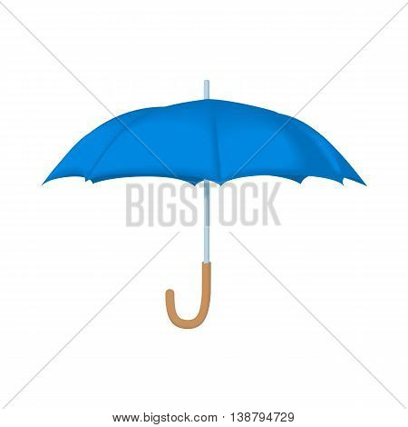 Umbrella icon in cartoon style isolated on white background. Accessories symbol