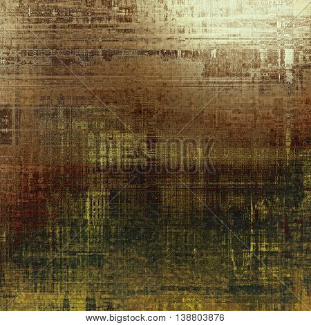 Creative vintage grunge texture or ragged old background for art projects. With different color patterns: yellow (beige); brown; gray; green; white