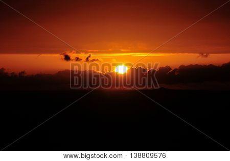 Sun Departing