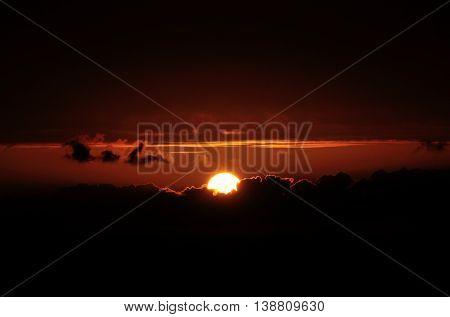 Sun Exiting