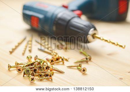 Heap Of Metal Screws