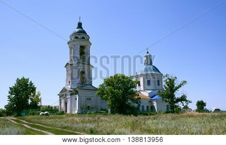 Russia. Voronezh region, church, village Losevo