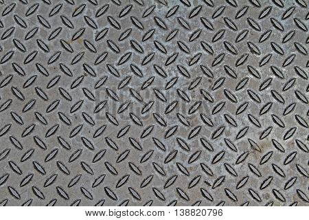diamond plate grey metal industrial texture background