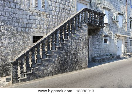 Traditional Stone Steps