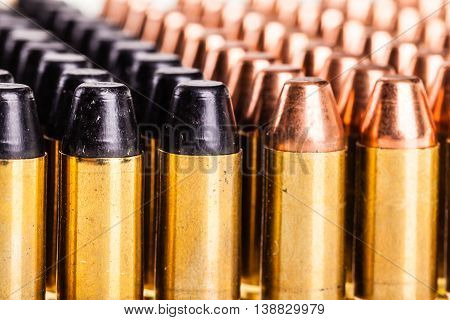 Different Bullets Row