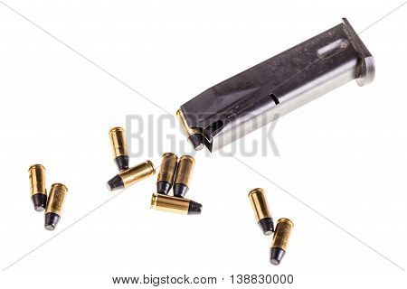 Pistol Magazine With Bullets