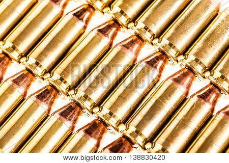 Pistol Ammo Rows
