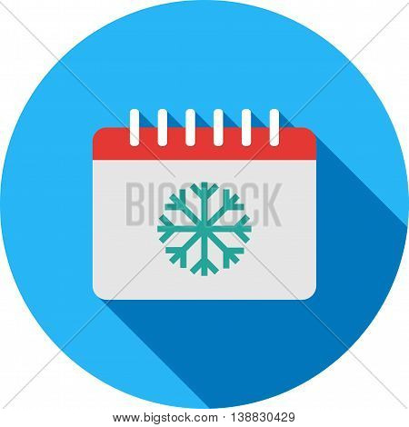 Winter, season, landscape icon vector image. Can also be used for seasons. Suitable for use on web apps, mobile apps and print media.