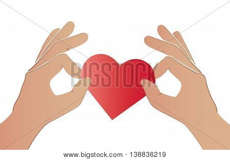 Hand Pick The Heart Color