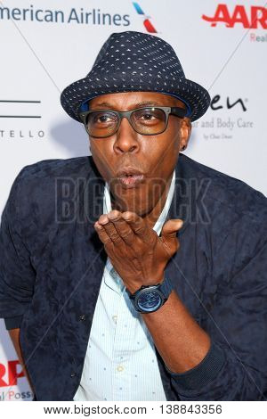LOS ANGELES - JUL 16:  Arsenio Hall at the HollyRod Presents 18th Annual DesignCare at the Sugar Ray Leonard's Estate on July 16, 2016 in Pacific Palisades, CA