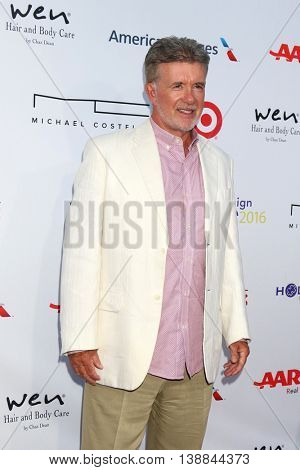 LOS ANGELES - JUL 16:  Alan Thicke at the HollyRod Presents 18th Annual DesignCare at the Sugar Ray Leonard's Estate on July 16, 2016 in Pacific Palisades, CA