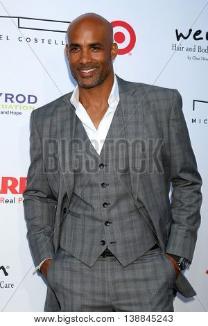 LOS ANGELES - JUL 16:  Boris Kodjoe at the HollyRod Presents 18th Annual DesignCare at the Sugar Ray Leonard's Estate on July 16, 2016 in Pacific Palisades, CA