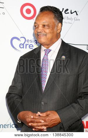 LOS ANGELES - JUL 16:  Jessie Jackson at the HollyRod Presents 18th Annual DesignCare at the Sugar Ray Leonard's Estate on July 16, 2016 in Pacific Palisades, CA
