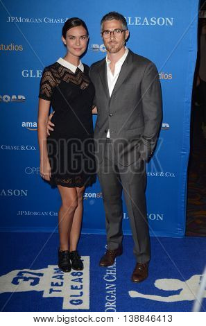LOS ANGELES - JUL 14:  Odette Annable, Dave Annable at the Gleason LA Premiere Screening at the Regal 14 Theaters at LA Live on July 14, 2016 in Los Angeles, CA